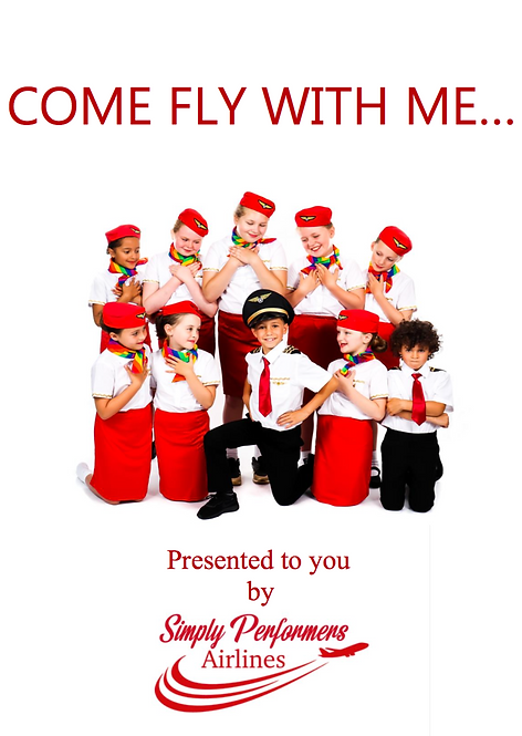 COME FLY WITH ME.. DIGITAL DOWNLOAD