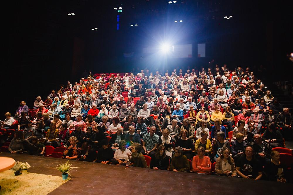 Audience at BLF18 April festival (c) Lee Allen