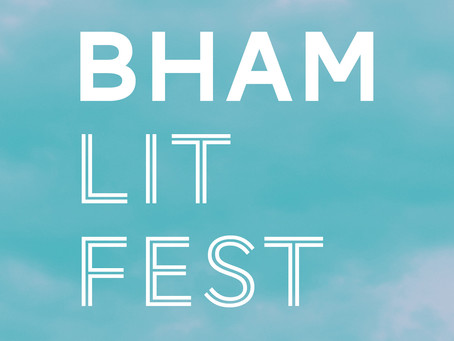 Spring at Birmingham Literature Festival: a weekend of inspiring conversations, writing and debate