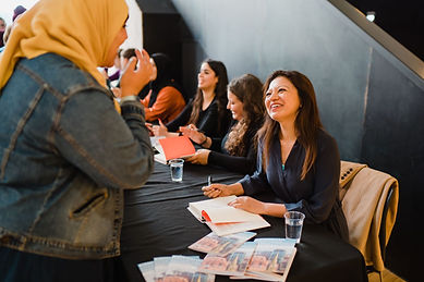 It's Not about the Burqa, book signing.j