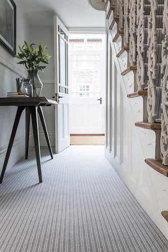 New build carpet hallway