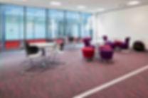 Contract office floor carpet tiles carpeting