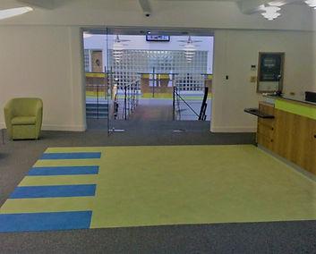 Commercial contract carpet school