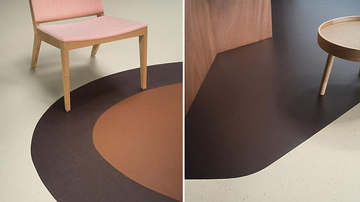 Contract flooring marmoleum safety flooring