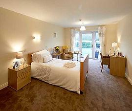Care home bedroom carpet