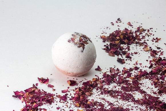 NATURAL AMOR / Bombe de bain ROSE GERANIUM