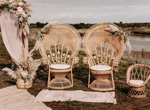 Un mariage dans une serre sur l'Ile de Ré