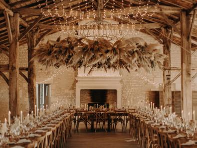 Un mariage 100% fleurs séchées au Château de Théon