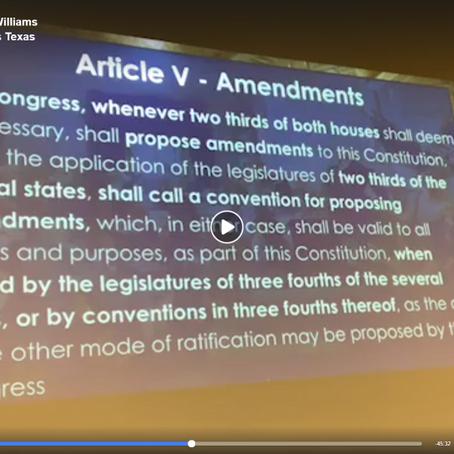 Constitution 101 Seminar