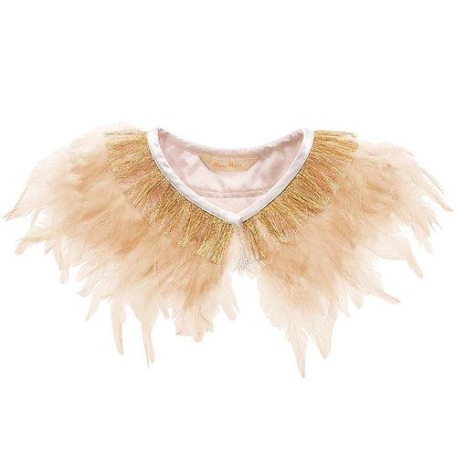 Meri Meri Peach Feather Capelet