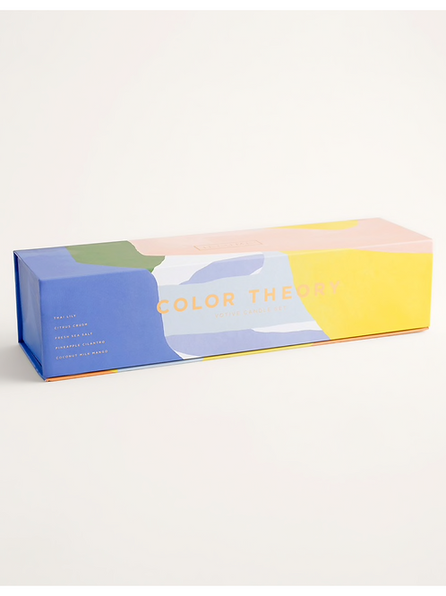 Votive Gift Set-Color Theory