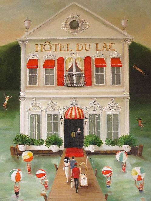 Hotel du Lac. Art Print