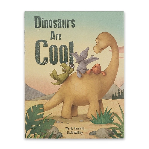 Jellycat: Dinosaurs are Cool Book