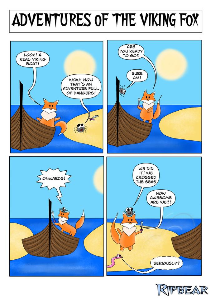 Part 7. Viking Ship