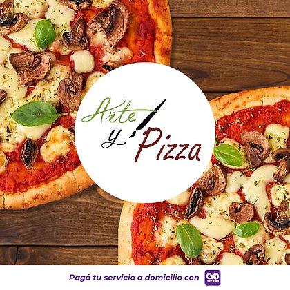 Arte y Pizza