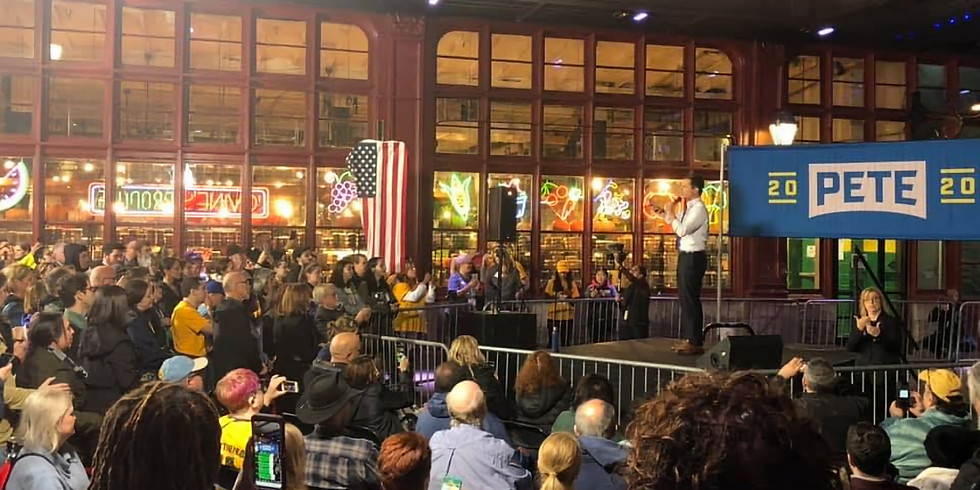 Fifth DNC Primary Debate Watch Party at Field House Bar Philadelphia