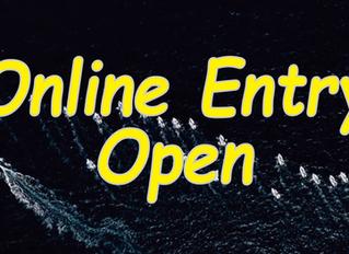 ONLINE ENTRY OPEN!