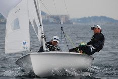 The 1st Kanto 470 Association fleet race in 2017  Day1