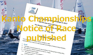 Kanto Championships Notice of Race  published