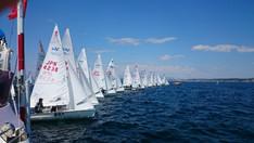 The 1st Kanto 470 Association fleet race in 2017  Day2