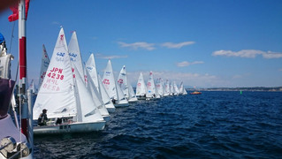The 1st Kanto 470 Association fleet race in 2017  Day2