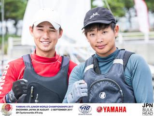 高宮豪太/久保田空 慶応義塾大学 (2017ジュニアワールド)