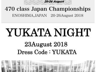 YUKATA NIGHT  23 August 2018