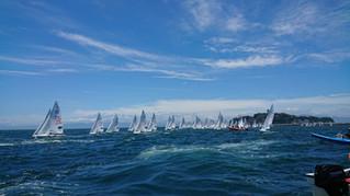 The 2nd Fleet race in 2018 Day1