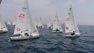 The 1st Fleet race in 2019 Day2