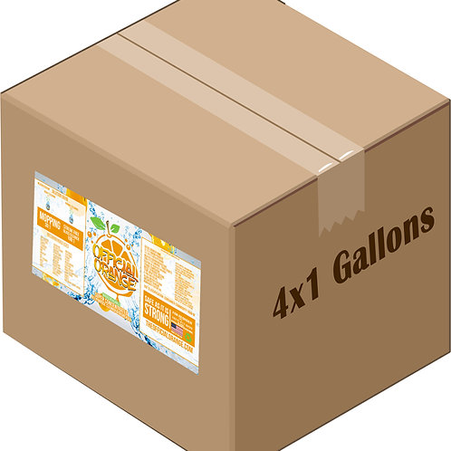 Official Orange - (3) 4x1 case of gallon (WS)