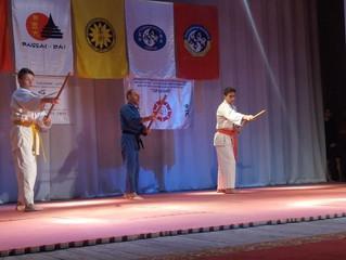 Самураи, мечи и самозащита: в Кривом Роге прошёл первый в области фестиваль боевых искусств