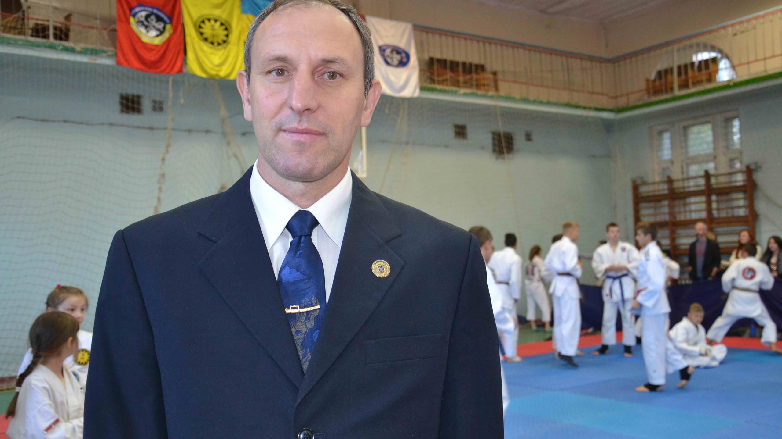 Владимир Скрыпнюк Заслуженный тренер Украины наши Поздравления!!!