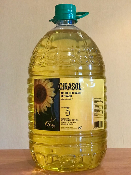 Aceite de Girasol en pet de 5L