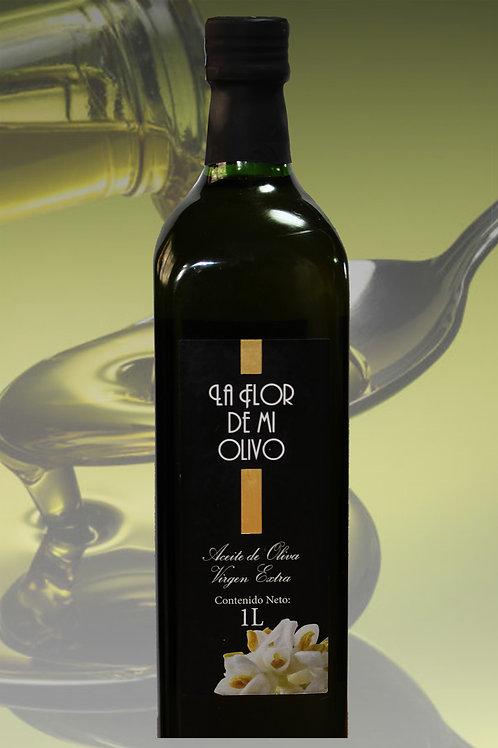 Flor de mi Olivo - Aceite Virgen Extra en botella Marasca