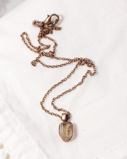 Tiny Topaz necklace