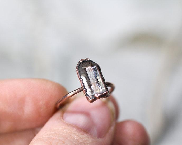 Norwegian mined Quartz ring