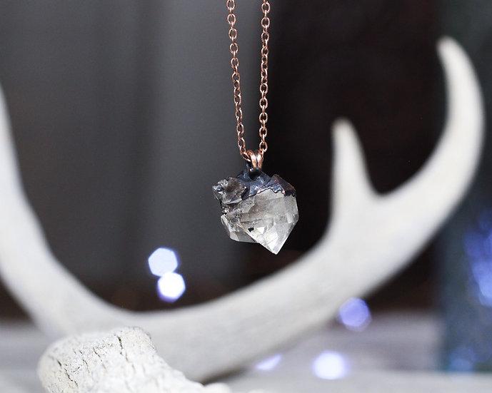 Little Herkimer Diamond necklace