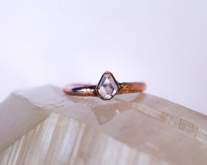 Tiny Topaz ring