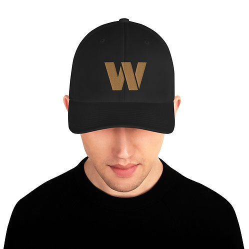 Warden Embroidered Cap (Brass W)