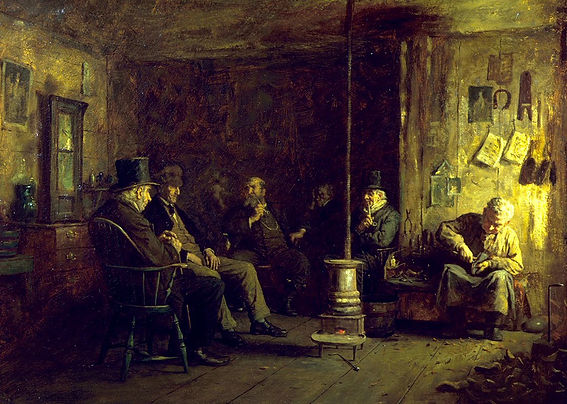 Eastman_Johnson_-_The_Nantucket_School_o