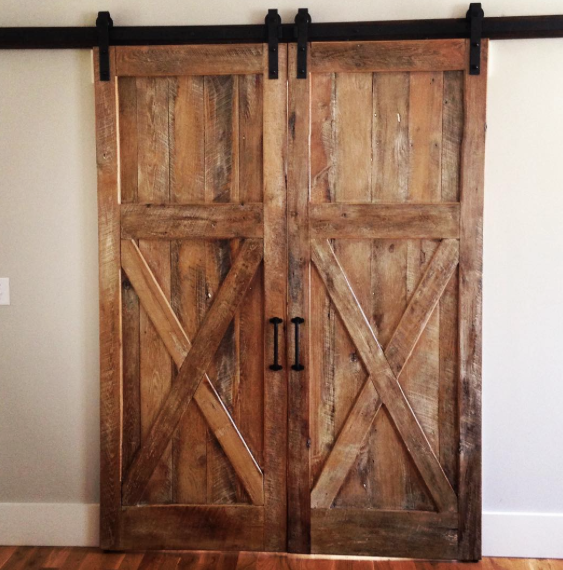 Salt Wood Co. - Custom Reclaimed Wood Furniture in Charleston, SC  Sliding  Barn Doors