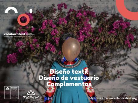 Festival Colaborafest convoca marcas de diseño de vestuario y complementos para su quinta versión