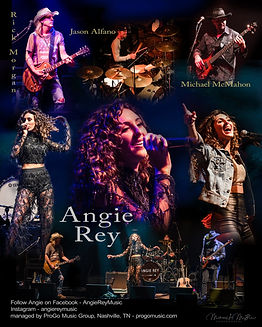 Angie Rey poster