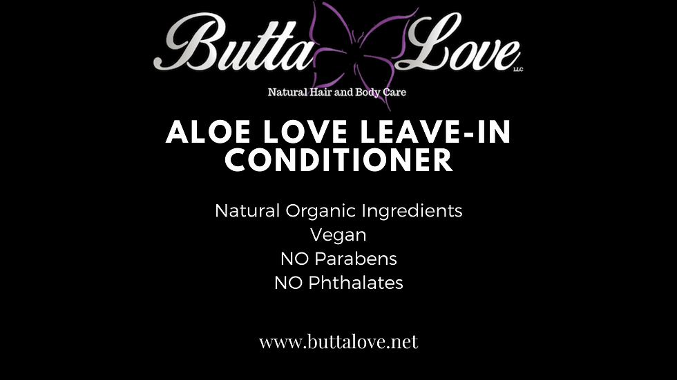 Aloe Love Leave-In Conditioner