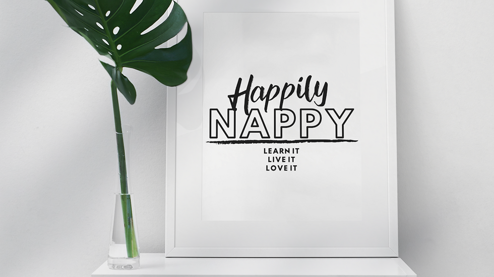 """Happily Nappy..."""