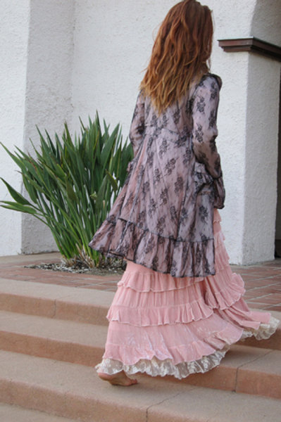 Victorian Lace Coat