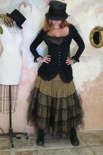 Rodeo Cinderella Skirt & Belle Jacket in Velvet