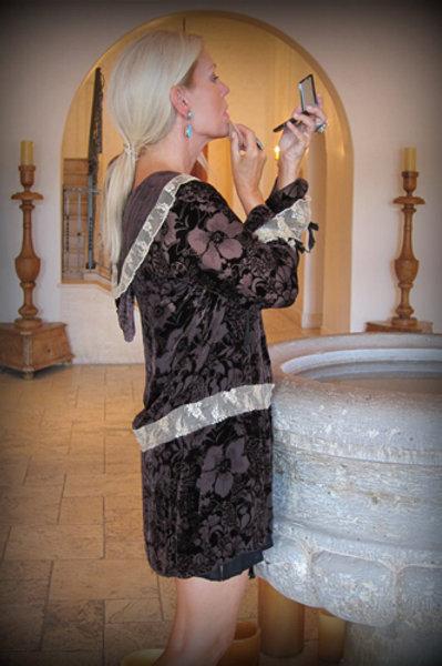 Hood Dress (Floral)