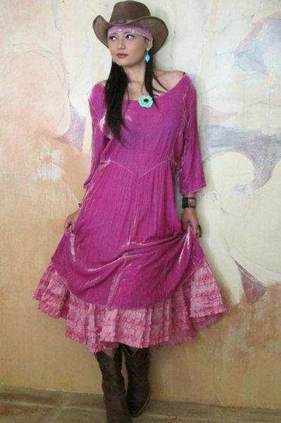Vintage Velvet Dress 2