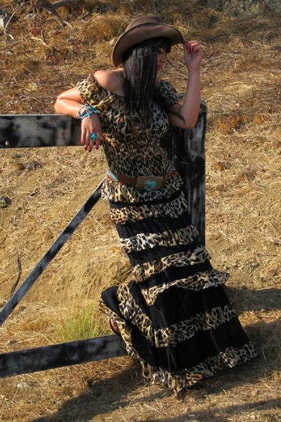 Princess Skirt & Peasant Top